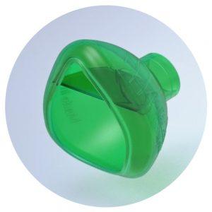 Masque cloisonné OrHal pour chambre d'inhalation